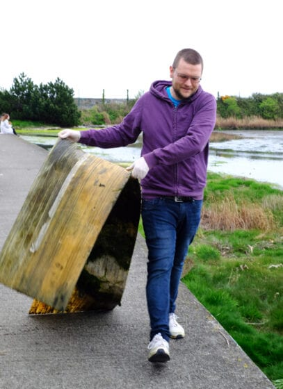 Booterstown clean up april 2021 5