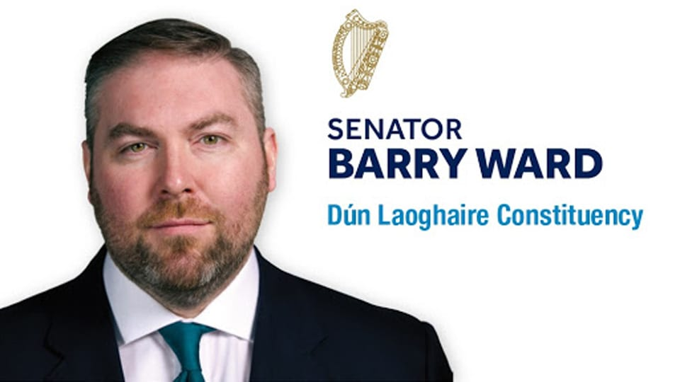 Fine Gael Senator Barry Ward v
