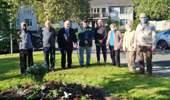 Lucan residents Sarsfield Close 1